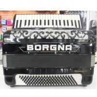Borgna Supertone 5ª 120 bassi, Fisarmonica in condizioni perfette!