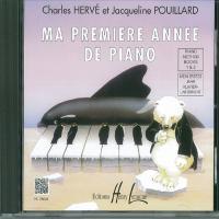 Hervè-Pouillard - Ma premiere annee de piano - CD