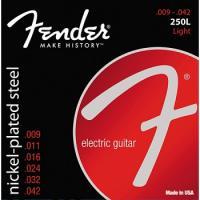 Fender 250l Muta di corde per chitarra elettrica