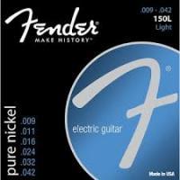 Fender 150l Muta di corde per chitarra elettrica