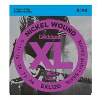 D'Addario EXL 120 Super Light Muta di corde per chitarra elettrica