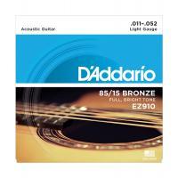 Muta di corde D'Addario EZ 910 Light per chitarra acustica