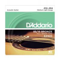 Muta di corde D'Addario EZ 920 per chitarra acustica