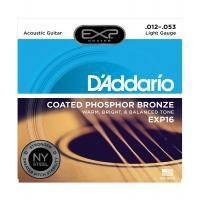 Muta di corde D'Addario EXP 16 Light per chitarra acustica