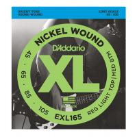Muta di corde per basso elettrico D'Addario EXL 165 Regular Light Top / Medium Bottom