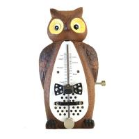 Metronomo meccanico Wittner Taktell in Shape of Animals Series 839031 Owl