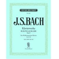 BACH Klavierwerke (Busoni-Ausgabe) Band I