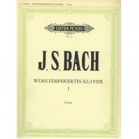 BACH Wohltemperiertes klavier I - Edition Peters