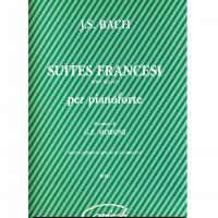 BACH Suites francesi (Moroni) - Carisch