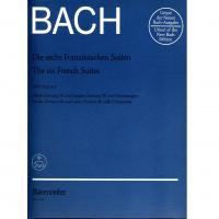 Bach The six French Suites - Barenreiter