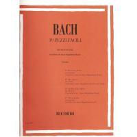 Bach 19 pezzi facili per Pianoforte (Canino) - Ricordi