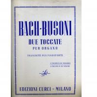 Due toccate per organo 1° toccata in DO maggiore  2° toccata in Re minore - Edizioni Curci