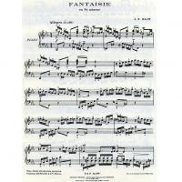 Bach Fantaisie en Ut mineur  - Editions Durand