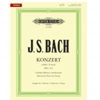 Bach Konzert D minor Urtext con CD