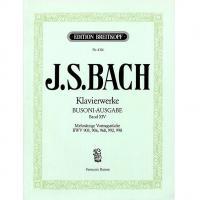 Bach Klavierwerke Band XIV (Busoni - Ausgabe) Edizione Breitkopf