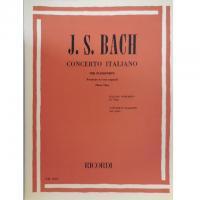 Bach Concerto Italiano per Pianoforte (Maria Tipo) - Ricordi