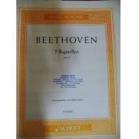 Beethoven 7 Bagatellen opus 33 PIANO