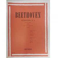 Beethoven Sinfonia n. 3 in Mi Bem. (eroica) Op. 55 per Pianoforte (Pozzoli) Ricordi