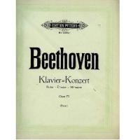 Beethoven Klavier = Konzert  Opus 73 (Pauer) - Edition Peters