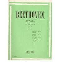 Beethoven Sonata Op. 14 n 2 per Pianoforte (casella) 3^ Edizione Ricordi