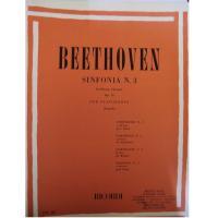 Beethoven Sinfonia n. 3 in Mi Bem. (eroica) Op. 55 per Pianoforte (Pozzoli) - Ricordi