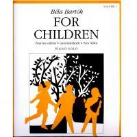 Béla Bartok For Children Piano solo Volume 1