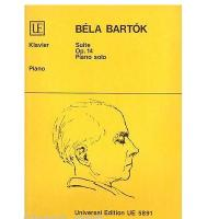 Bela Bartok Suite op. 14 Piano solo