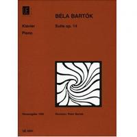 Bela Bartok Suite Op. 14 Piano