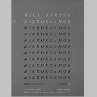 Béla Bartok Mikrokosmos 3, 153 Progressive Piano Pieces In 6 volumes (3)