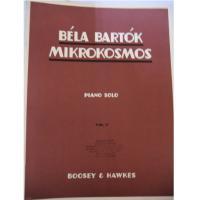Bela Bartok Mikrokosmos Piano solo vol. v