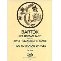 Bela Bartok Two Rumanian dances For piano Op. 8/a