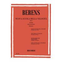 Berens Nuova scuola della velocità Op. 61 40 studi per Pianoforte (Bergmann) -  Ricordi