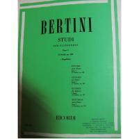 Bertini Studi per pianoforte Fasc. 1 25 studi, op. 100 (Mugellini) Ricordi