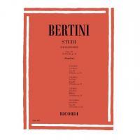Bertini Studi per pianoforte Fasc. III 25 Studi ,op 32 (Mugellini) - Ricordi