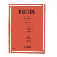 Bertini Studi per pianoforte fasc. IV 25 Studi op. 134 (Mugellini)