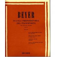Beyer Scuola preparatoria del pianoforte per giovani allievi Op. 101 (Pozzoli) - Ricordi