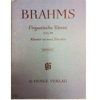 Brahms Ungarische Tanze 1 bis 10 Urtext - Verlag