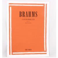 Brahms 3 Intermezzi op. 117 per pianoforte - Ricordi