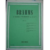 Brahms 3 Danze Ungheresi n. 5, 6, 7 per pianoforte (Marciano) - RICORDI