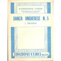 Brahms Danza Ungherese N. 5 - Edizione Curci Milano