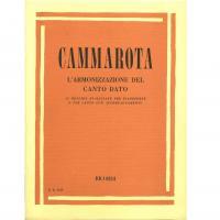 Cammarota L'Armonizzazione del canto dato. 33 melodie realizzate per pianoforte o per canto con accompagnamento - RICORDI
