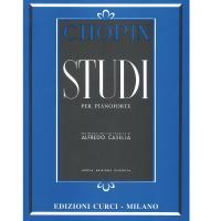 Chopin STUDI per pianoforte (Casella) - Edizione Curci Milano