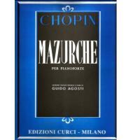 Chopin Mazurche per pianoforte (Agosti) - Edizione curci milano