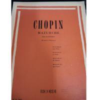 Chopin Mazurche per pianoforte (Brugnoli-Montani) - Ricordi