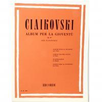 Ciaikovski ALBUM PER LA GIOVENTU' Op. 39 per pianoforte - Ricordi