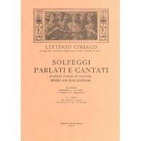 Ciriaco Solfeggi parlati e cantati - Edizioni E. DI. M. Roma III Corso