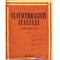 Clavicembalisti Italiani COMPOSIZIONI Vol. 1 (Vitali) - Ricordi