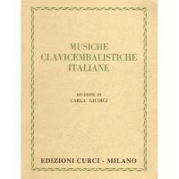 Musiche Clavicembalistiche Italiane revisione di Carla Giudici - Edizione Curci Milano