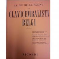 Le più belle pagine dei Clavicembalisti Belgi (Montani) - Ricordi