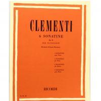 Clementi 6 Sonatine Op. 36 per pianoforte (Ernesto Marciano) - Ricordi